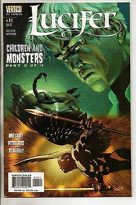 DC Vertigo Comics Lucifer #11 April 2001 NM