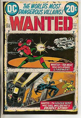 DC Comics Wanted The Worlds Most Dangerous Villains #6 February 1973 VF+