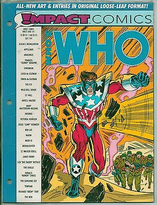 DC Comics Whos Who In The DC Universe Impact Comics #1 Sealed Loose Leaf  VF