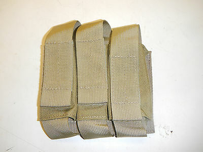 New Military Surplus Bellum Designs Triple 40mm Grenade Pistol Mag Molle Pouch