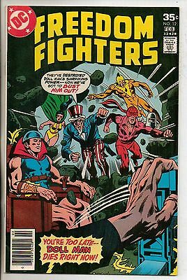 DC Comics Freedom Fighters #12 February 1978 The Origin Of Firebrand VF+