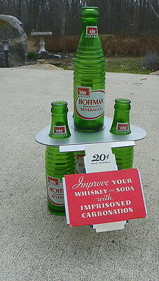 Hoffman Soda 4 Bottle Display
