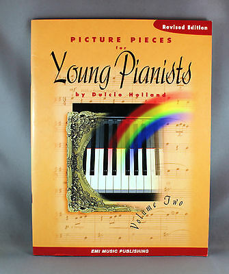 Picture Pieces For Young Pianists Vol 2 by Dulcie Holland - Brand New Revised