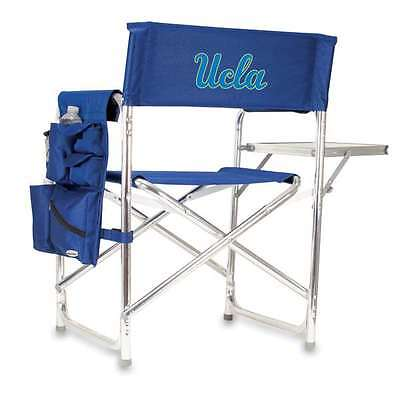 Sports Chair - Navy (UCLA Bruins) Embroidered Tailgate  Portable folding chair w