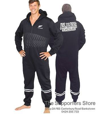 New Zealand All Blacks Rugby Footy Suit Onesie Jersey Design Adults & Kids Sizes