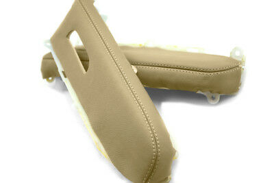 Door Panel Armrest Leather Synthetic Cover for Toyota Prius 04-09 Beige