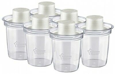 Tommee Tippee Closer To Nature Milk Powder Dispensers - Pack Of 6