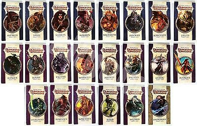 Dungeons & Dragons POWER CARDS ARCANE MARTIAL DIVINE D&D 4th Edition d20 NEW