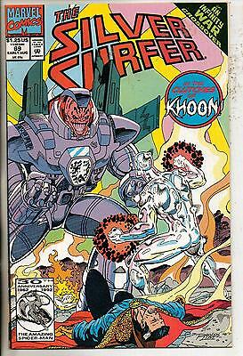 Marvel Comics Silver Surfer #69 Early August 1992 Infinity War NM-