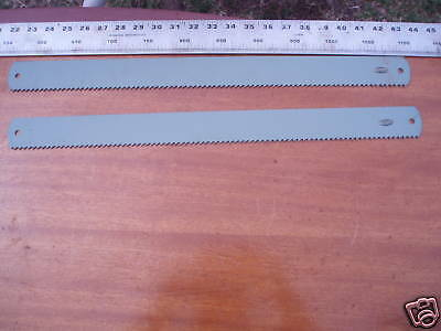 "2 pieces Osborn / ESC HSS Power Hacksaw Blade 21"" x 1 3/4"" x 2.5mm, in 4T"