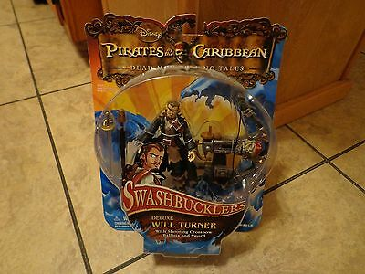 2008 Zizzle--Pirates Of The Caribbean--Swashbucklers Will Turner Figure (New)