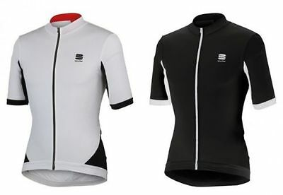 Sportful Total Comfort Jersey Cycling jersey black o. white
