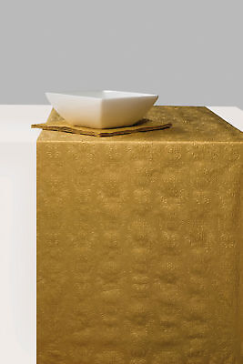 Ambiente Paper Table Runner 33cm x 6m Elegance Gold Christmas Party Wedding