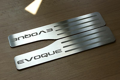 Range Rover Evoque Door Sill Plates Rear Set Of 2