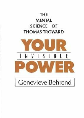 Your Invisible Power - New Paperback Book