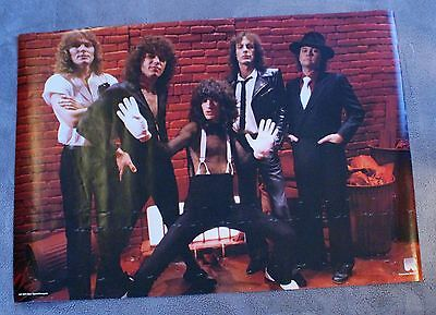 Reo Speedwagon 1980s Neal Doughty Kevin Cronin Bruce Hall Holland Poster GVG C5