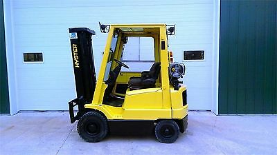 2004 Hyster H30XM Pneumatic Tires Forklift Lift Truck