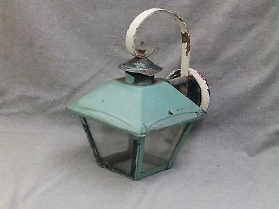 Vintage Copper Arts Crafts Porch Sconce Wall Light Fixture Old Outdoor 800-16