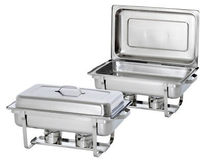 Bartscher Twin Pack - 2 Chafing Dishes 1/1 GN 500486