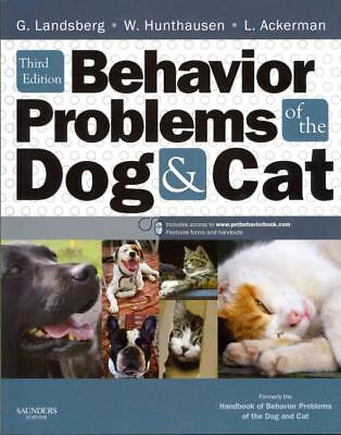 Behavior Problems Of The Dog And Cat - New Paperback Book