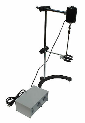 Electric Overhead Stirrer Mixer Variable Speed 40W New