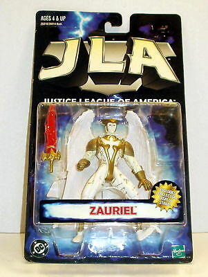 Justice League of America Zauriel '98 MOC Free Ship w/ Pro Packing