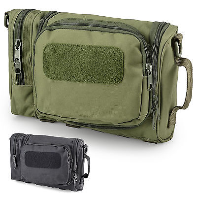 Mens Military Army Tactical Travel Camping Hanging Toiletry Wash Kit Bag Case