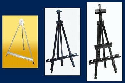 Aluminium Easel Field Watercolour Lightweight Telescopic Horizontal Vertical