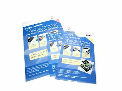 Frisk Tracedown Wax Free Tracing Down Paper A3 A4 Assorted Colours & Pack Sizes