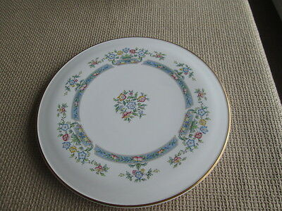 "Royal Worcester Mayfield Large Gateaux Serving Plate 11"" Wide"