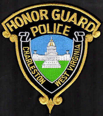 Charleston West Virginia Police Shoulder Patch = Honor Guard