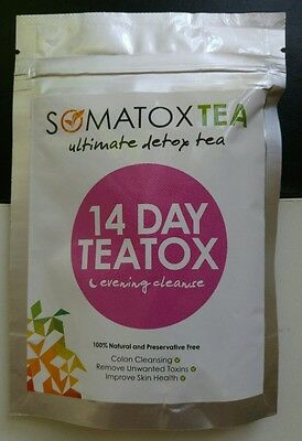 SOMATOX 14 days (7 teabags) Teatox Weight Loss Detox Tea Burn Fat  Like Bootea