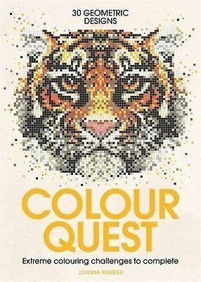 Colour Quest (Colouring Books) by Joanna Webster New Paperback Book