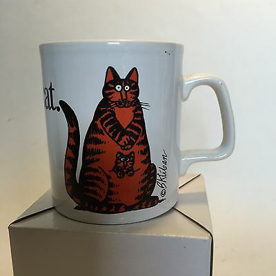 B Kliban Momcat Mug Kiln Craft Staffordshire England Vintage Mom Cat Kitty
