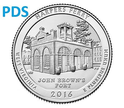 US 2016 PDS Harpers Ferry National Historical Park - 3 COINS