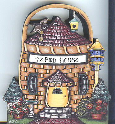 Brandywine Collectibles BASKET VALLEY Houses & Shops THE BIRDHOUSE
