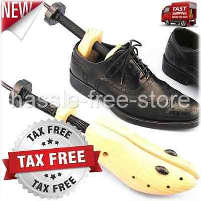 Large Wooden Shoes Stretcher For Men or Women Shoes Size 9-13 NEW Free Shipping!
