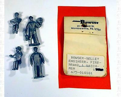 Bowser Selley Finishing Touches O Parts: Engineer Train Crew Figures 675-010101