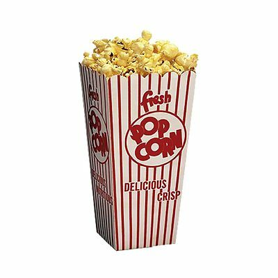 Benchmark Scoop Boxes, Sturdy And Durable Enough To Scoop Popcorn, Pack of 100