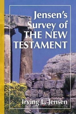 Jensen's Survey Of The New Testament - New Hardcover Book