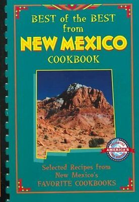 Best Of The Best From New Mexico Cookbook - New Paperback Book