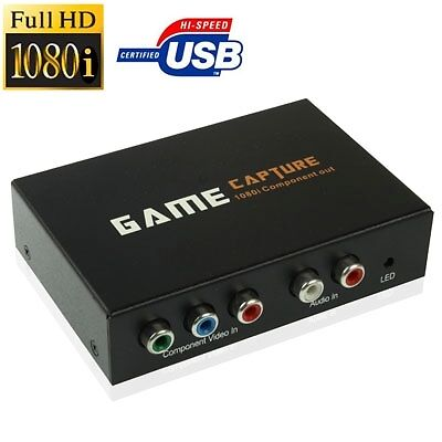 TECNICO USB 2.0 Game Capture Device, Support 1080i HD on TV, Capture XBOX 360 /