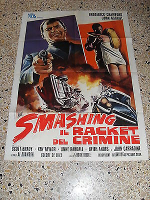 Manifesto Smashing Il Racket Del Crimine Auto Car Citroen Pallas Ds P 2F