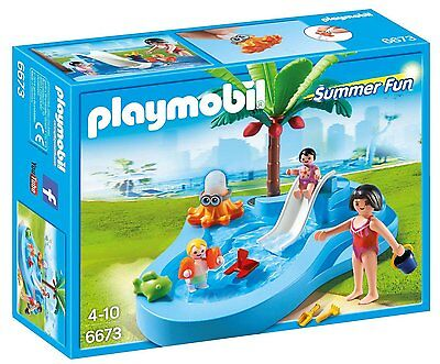 Playmobil 6673 Summer Fun Baby Pool with Slide