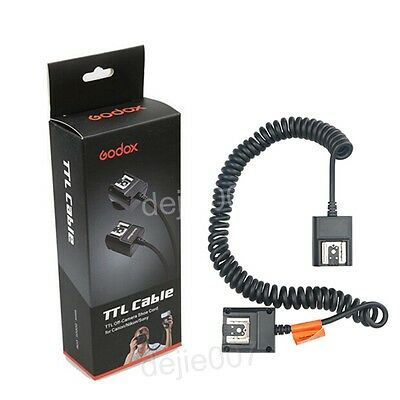 Godox TL-N 3m Off Camera Flash Speedlite TTL Shoe Cord For Nikon DSLR Camera