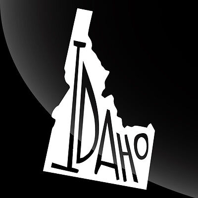 Idaho ID State Pride Decal Sticker - TONS OF OPTIONS