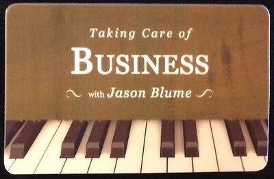 Songwriting:Taking Care of Business by Jason Blume audio download