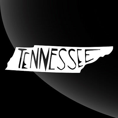 Tennessee TN State Pride Decal Sticker - TONS OF OPTIONS