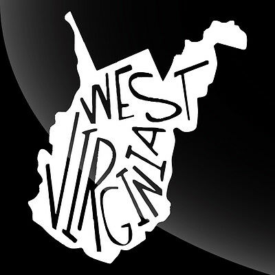 West Virginia WV State Pride Decal Sticker - TONS OF OPTIONS