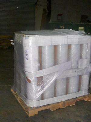 "18"" x 1,600' 2 Mil Poly Tubing Roll Clear Plastic Bags"